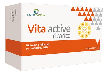 VITA ACTIVE RICARICA 30 COMPRESSE - Farmafamily.it