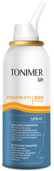TONIMER LAB PANTHEXYL SOLUZIONE SPRAY 100 ML - Farmafamily.it