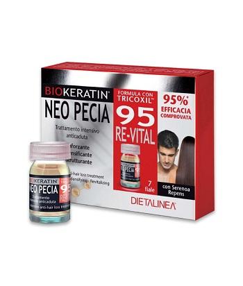 BIOKERATIN NEO PECIA 95 RE-VITAL TRATTAMENTO INTENSIVO ANTICADUTA 7 FIALE DA 3 ML - Farmacia Giotti