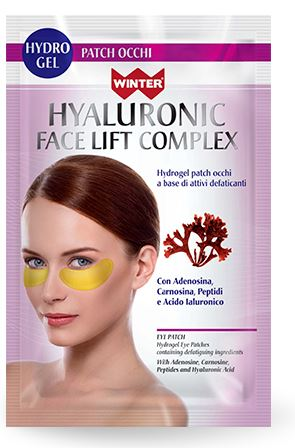 WINTER HYALURONIC FACE LIFT COMPLEX PATCH OCCHI RUGHE OCCHIAIE 1,5 G X 2 - Farmacielo