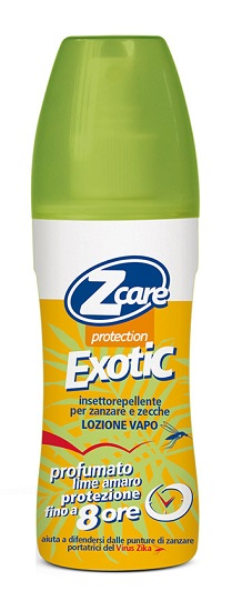ZCARE PROTECTION EXOT VAP LIME - Farmaunclick.it