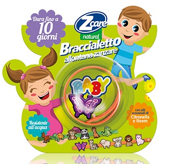 ZCARE NATURAL BABY BRACCIALETTO - Farmabenni.it