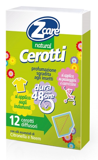 ZCARE NATURAL BABY CEROTTI 12 PEZZI - Spacefarma.it