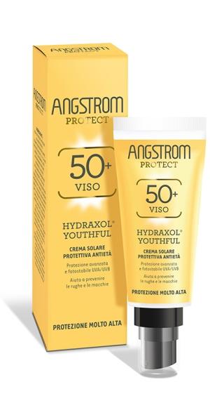 Angstrom Protect Crema Solare Viso Antietà Protezione Molto Alta 50+, 40ml - latuafarmaciaonline.it