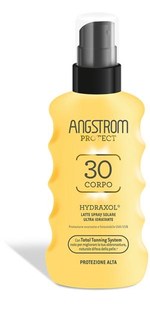 ANGSTROM PROTECT HYDRAXOL LATTE SPRAY SOLARE PROTEZIONE 30 175 ML - Farmacento