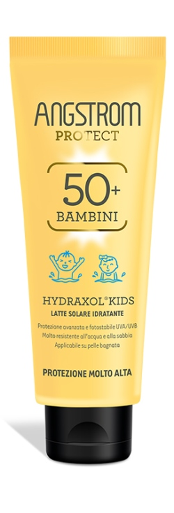 ANGSTROM PROTECT HYDRAXOL KIDS LATTE SOLARE ULTRA PROTEZIONE 50+ 125 ML - Farmafamily.it