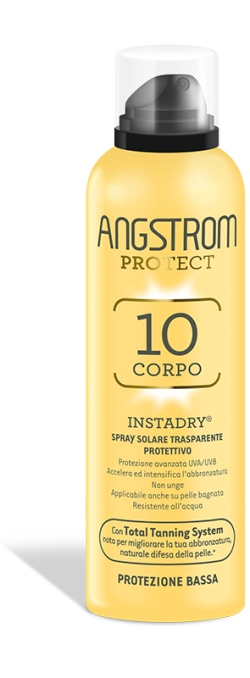 Angstrom Protect Instadry Spray Trasparente Solare Protezione Alta SPF10 150ml - Sempredisponibile.it