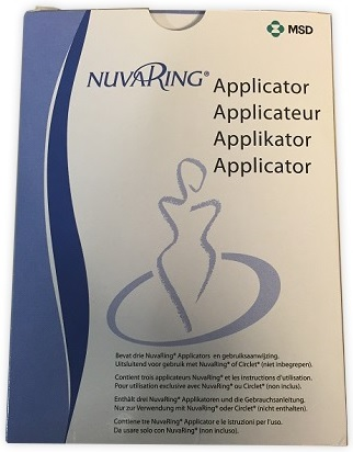APPLICATORE PER ANELLO VAGINALE NUVARING 3 PEZZI - Zfarmacia