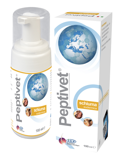 PEPTIVET SCHIUMA CANE E GATTO FOAM 100 ML - Farmastar.it