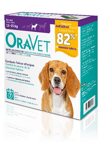 ORAVET CHEWING GUM DOG MEDIUM 7 PEZZI - Farmajoy