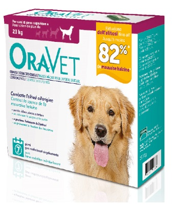 ORAVET CHEWING GUM DOG LARGE 7 PEZZI - Farmapage.it