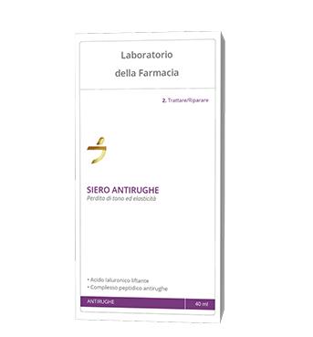 LABORATORIO DELLA FARMACIA SIERO ANTIRUGHE 40 ML - Zfarmacia