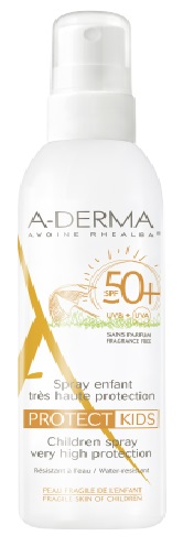 ADERMA A-D PROTECT KIDS SPRAY BAMBINO 50+ 200 ML - Parafarmaciabenessere.it