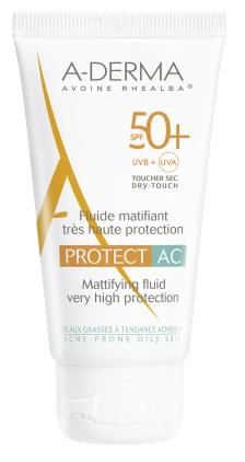 ADERMA A-D PROTECT AC FLUIDO MAT 50+ 40 ML - Farmaci.me
