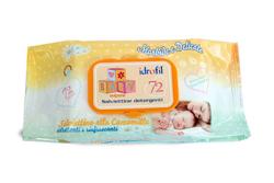 SALVIETTINE BABY CAMOMILLA 72 PEZZI - Farmacia Centrale Dr. Monteleone Adriano