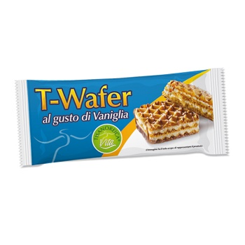 TISANOREICA T-WAFER AL GUSTO VANIGLIA INTENSIVA 35 G - Farmastar.it
