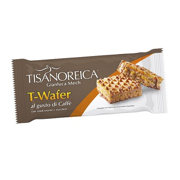 TISANOREICA T-WAFER AL GUSTO DI CAFFE' INTENSIVA 35,5 G - Farmastar.it