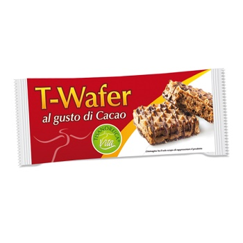 T-WAFER AL GUSTO CACAO INTENSIVA 36 G - Farmafamily.it