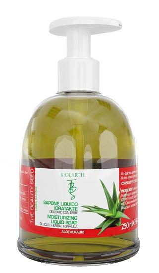 Bioearth Sapone Liquido Idratante The Beauty Seed 250 ml - Iltuobenessereonline.it