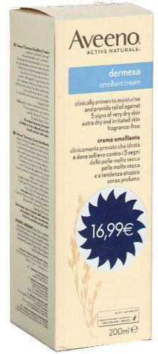 AVEENO DERMEXA CREMA IDRATANTE 200 ML - Carafarmacia.it