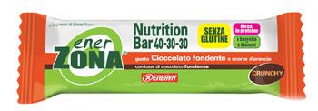 Enervit EnerZona Nutrition Bar 40-30-30 Cioccolato Fondente E Scorze D' Arancia 45g - Zfarmacia