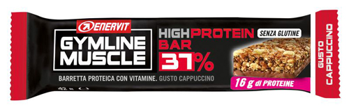 GYMLINE PROTEIN BAR 37% CAPPUCCINO 45 G - Farmaunclick.it