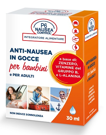 P6 NAUSEA CONTROL GOCCE ANTINAUSEA 30 ML - Farmabros.it