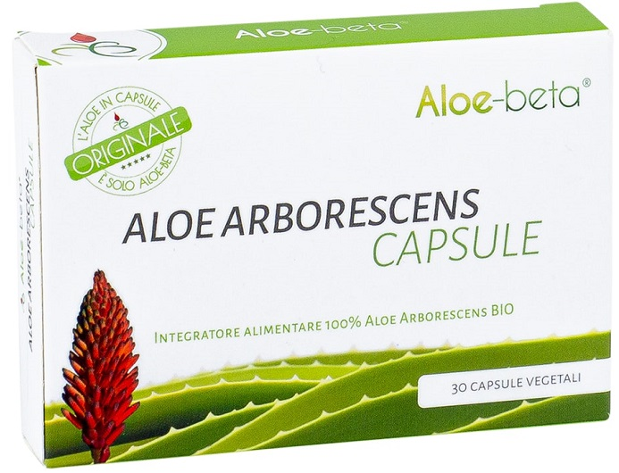ALOE BETA 30 CAPSULE ALOE ARBORESCENS - Farmacia Castel del Monte
