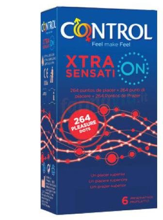 PROFILATTICO CONTROL XTRA SENSATION 6 PEZZI - Farmabellezza.it