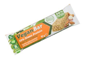 Named Sport Veganbar 30% Green Protein Crispy Nuts Barretta Proteica 40 g