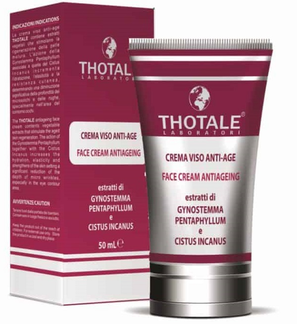 THOTALE CREMA VISO ANTIAGE 50 ML - Farmacia Puddu Baire S.r.l.