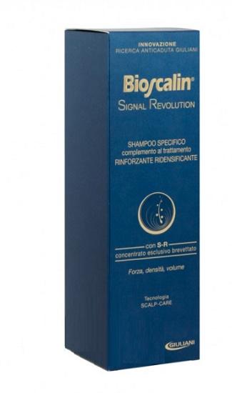 BIOSCALIN SIGNAL REVOLUTION SHAMPOO RINFORZANTE RIDENSIFICANTE 200 ML - Farmacia della salute 360