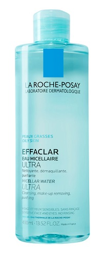 La Roche Posay Physiological Cleansers Acqua Micellare Ultra Pelle Grassa 400 ml