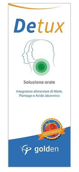 DETUX SOLUZIONE ORALE GUSTO FRAGOLA 150 ML - Farmaseller