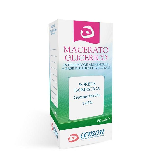 SORBUS DOMEST GEMME MACERATO GLICERICO 60 ML - Farmaseller