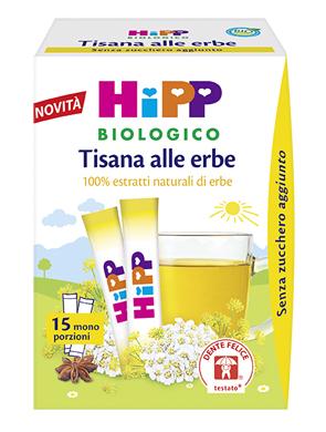 HIPP BIO HIPP BIO TISANA 100% ESTRATTI ERBE 5,4 G - Farmapage.it