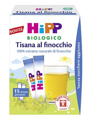 HIPP BIO HIPP BIO TISANA 100% ESTRATTI FINOCCHIO 5,4 G - Farmapage.it