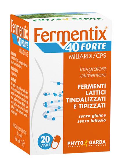 Phyto Garda Fermentix 40 Forte Integratore Alimentare 20 capsule - latuafarmaciaonline.it