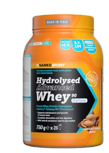HYDROLYSED ADVANCED WHEY CHOCO ALMOND 750 G - Farmapage.it