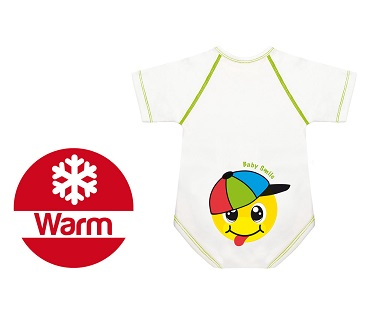 BODY 0 36 M CALDO COTONE WARM BABY SMILE CAPPELLINO - Farmastar.it