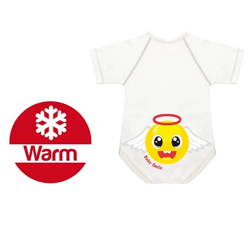 BODY 0 36 M CALDO COTONE WARM BABY SMILE ANGIOLETTO - Farmawing