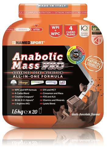 NAMED ANABOLIC MASS PRO 1600g - Farmaconvenienza.it