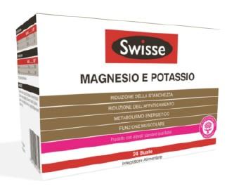 Swisse Magnesio e Potassio Integratore Alimentare 24 Buste Da 4 g. SCADENZA 31 MAGGIO 2020 - La tua farmacia online
