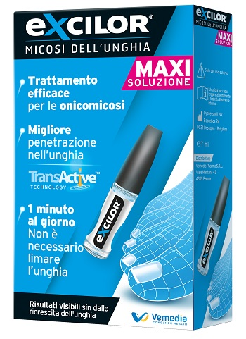 EXCILOR MAXI SOLUZIONE UNGUEALE 7 ML - Farmapage.it