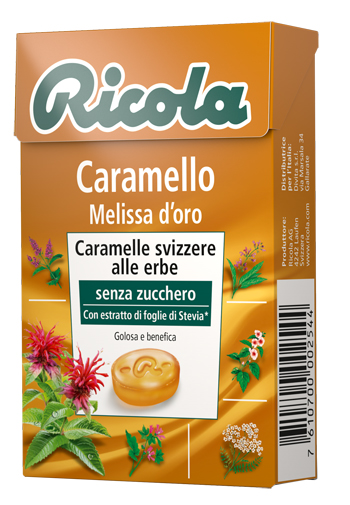 RICOLA HERB-CARAMEL 50 G - Carafarmacia.it