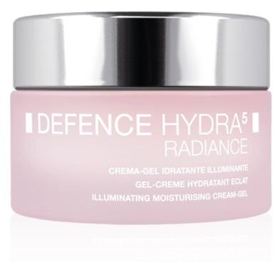 DEFENCE HYDRA5 CREMA GEL RADIANCE IDRATANTE ILLUMINANTE SPF 15 50 ML - Farmastop