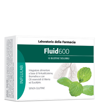 LABORATORIO DELLA FARMACIA FLUID 600 10 BUSTINE LINEA INFLULAB - Farmaciacarpediem.it
