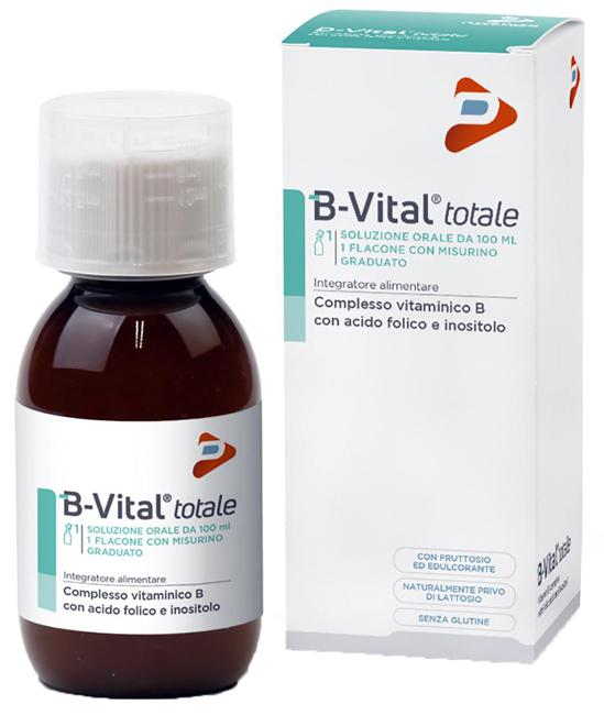 B-VITAL TOTALE SOLUZIONE 100 ML - Parafarmaciaigiardini.it