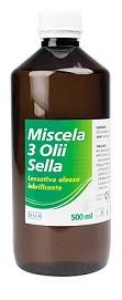 MISCELA 3 OLI LASSATIVO 500 ML MD SELLA - Farmajoy