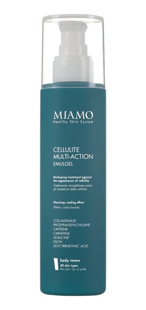 MIAMO BODY RENEW CELLULITE-MULTIACTION EMULGEL 200 ML TRATTAMENTO RIMODELLANTE CONTRO INESTETISMI DELLA CELLULITE - La farmacia digitale